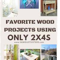 Favorite Projects Using Only 2x4s