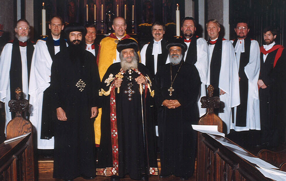 Basking in the eminence of the Coptic Pope