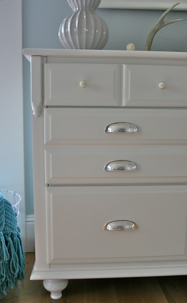 Traditional Maple Dresser Makeover Tutorial On Adding Feet To A Dresser Saw Nail And Paint
