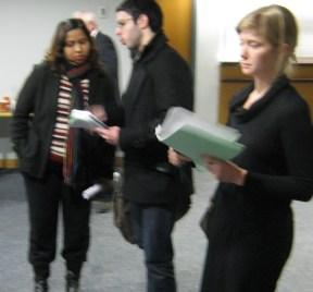 Moni at City Budget Consultation Jan 2011