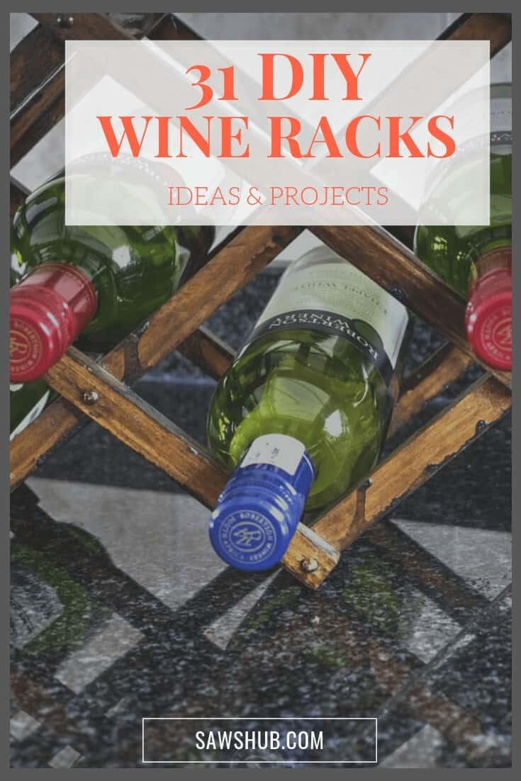 31 free diy wine rack ideas and plans