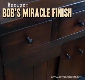 bobs miracle finish
