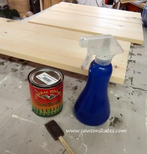 How to: Wood Dye