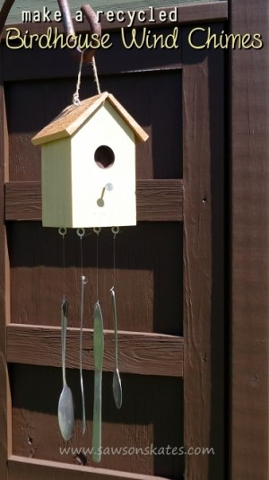 Build a Birdhouse Wind Chimes