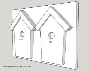 How to Make a DIY Birdhouse Address Plaque iso sos