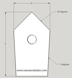 How to Make a DIY Birdhouse Address Plaque step 2 sos
