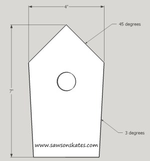 How to Make a DIY Birdhouse Address Plaque step 2 sos