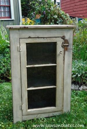 basement window cabinet finished