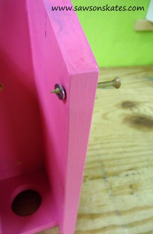 Birdhouse Poop Bag Dispenser step 9