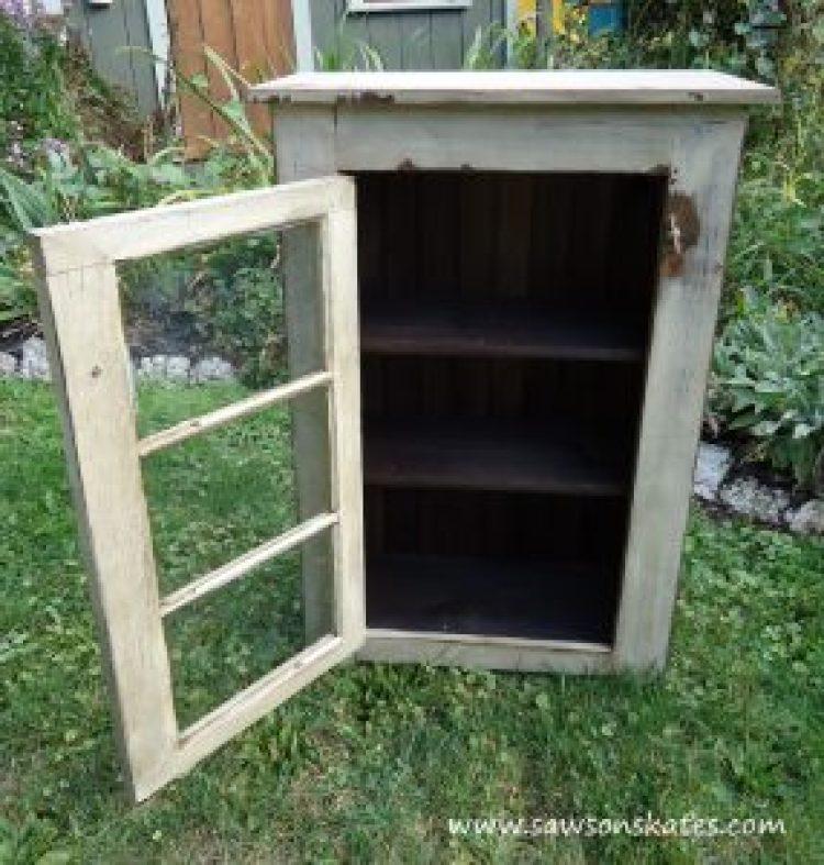 diy basement window cabinet 2