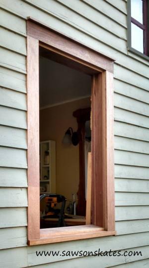 window trim installed sos
