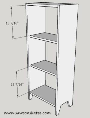 shelf spacing sos