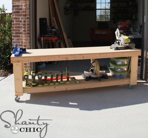 Looking For Workbench Ideas? Here Are 5 DIY Workbench Plans Perfect For A  Small Workshop