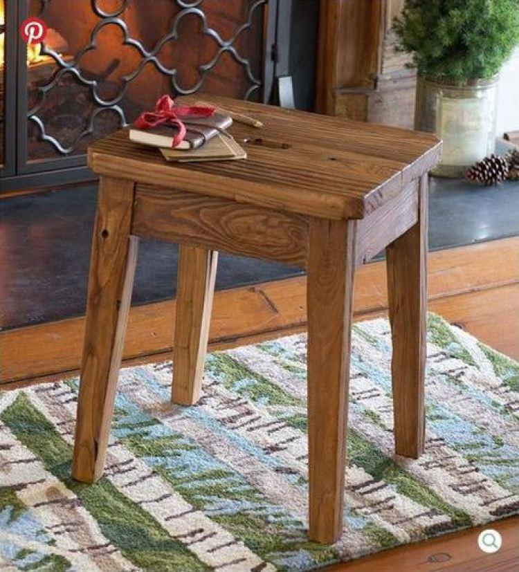 pnh elmwood stool