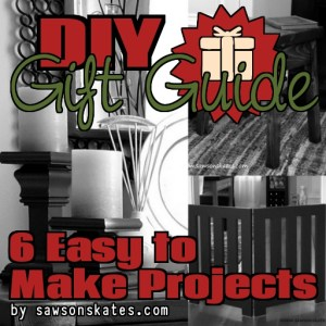 DIY Gift Guide sos