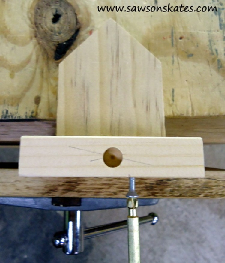 stocking holder attach building to base 3