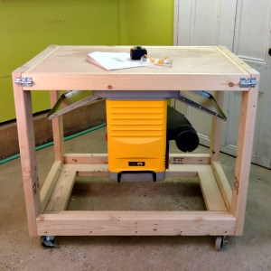 DIY Fliptop Workbench Cart