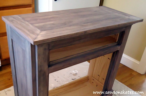 Rustoleum ebony wood stain