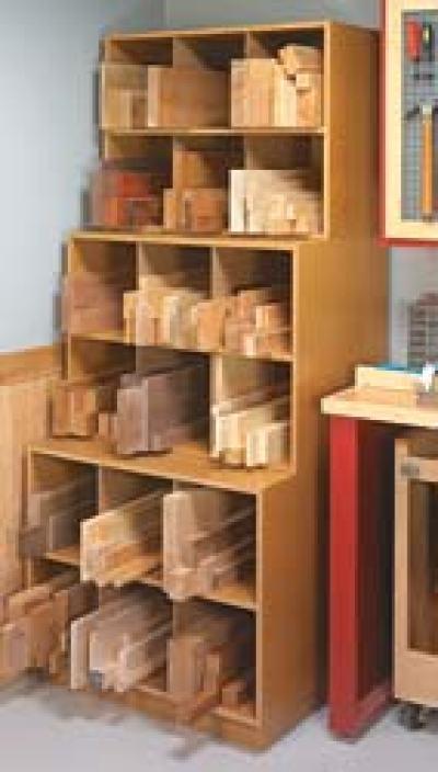 Cutoff Storage Bins