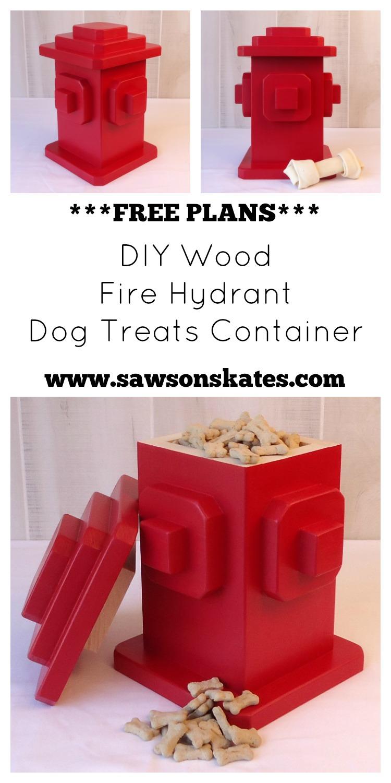 DIY Dog Treats Container
