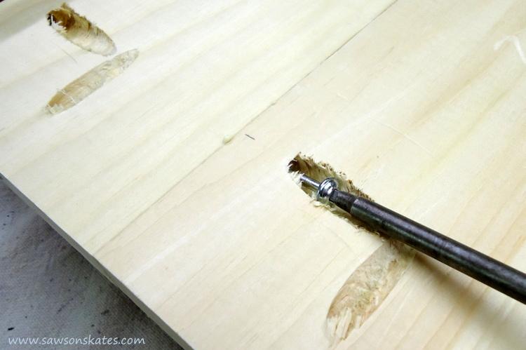 diy dog bed bottom pocket screw