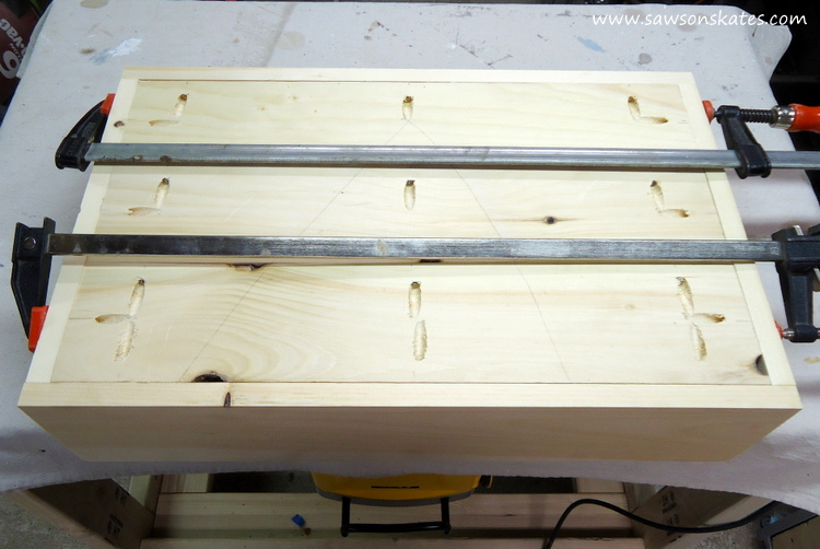 diy dog bed drawer assembly 4