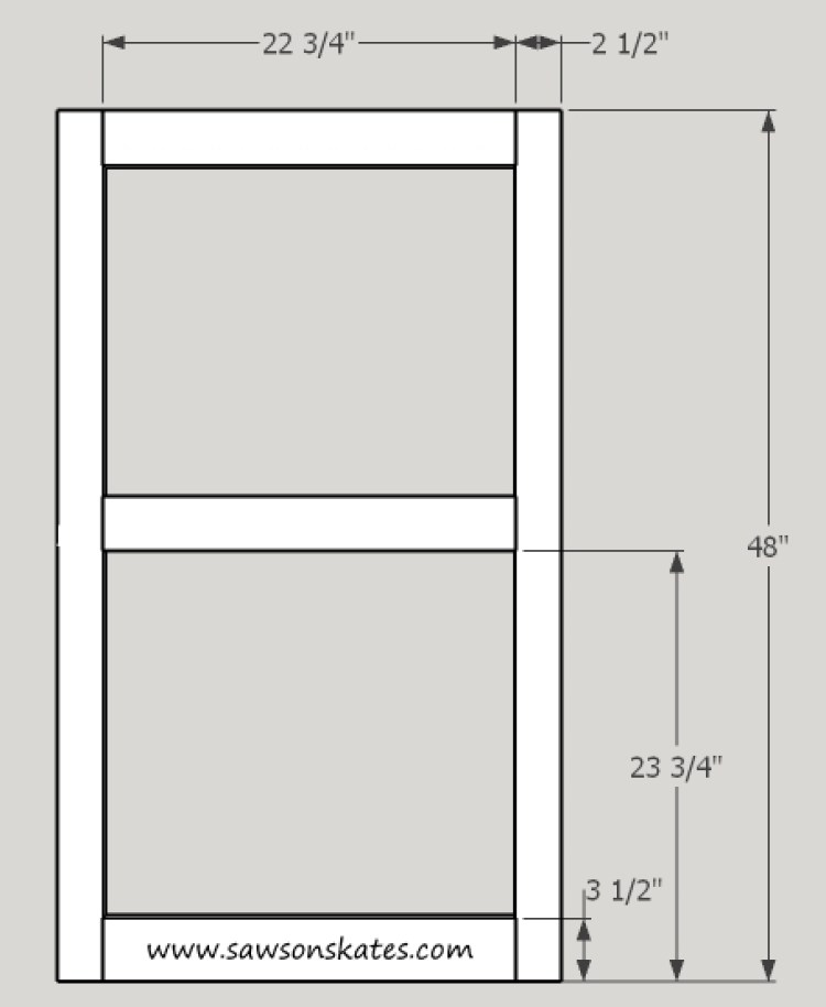 diy wood window dimensions