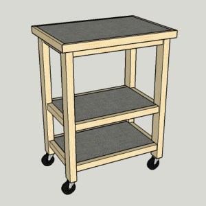 A DIY Kitchen Island is a Reader's Only Wish