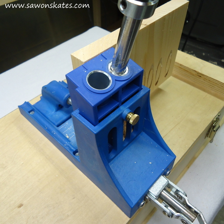 Make pocket holes virtually disappear! This tutorial shows how easy it is to use a Pocket Hole Plug Cutter jig to make plugs for your DIY projects.