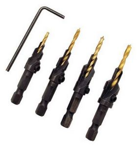 Countersink Drill Bits - 48 Gift Ideas DIYers Actually WANT! - sawsonskates.com