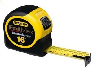 Stanley FatMax Tape Measure - 48 Most Wanted Tools and Products Gift Guide for the DIYer - sawsonskates.com