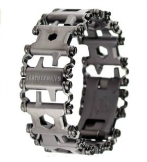 Leatherman Bracelet - 48 Most Wanted Tools and Products Gift Guide for the DIYer - sawsonskates.com