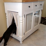 Why Building DIY Furniture isn't Always About Saving Money - Kitty Litter Cabinet