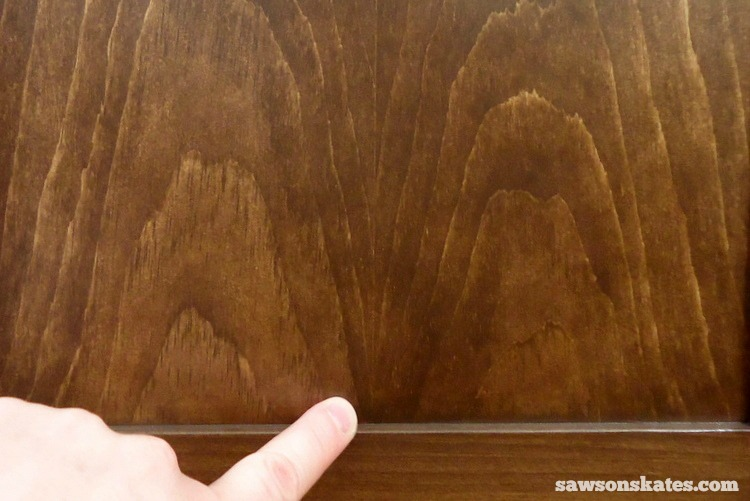Rookies Guide to Building DIY Furniture - Book-matched panels transform DIY furniture from ordinary to upscale