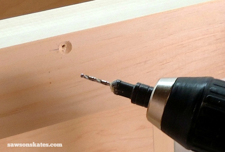 Rookies Guide to Building DIY Furniture - Use countersink drill bits for a clean, professional look