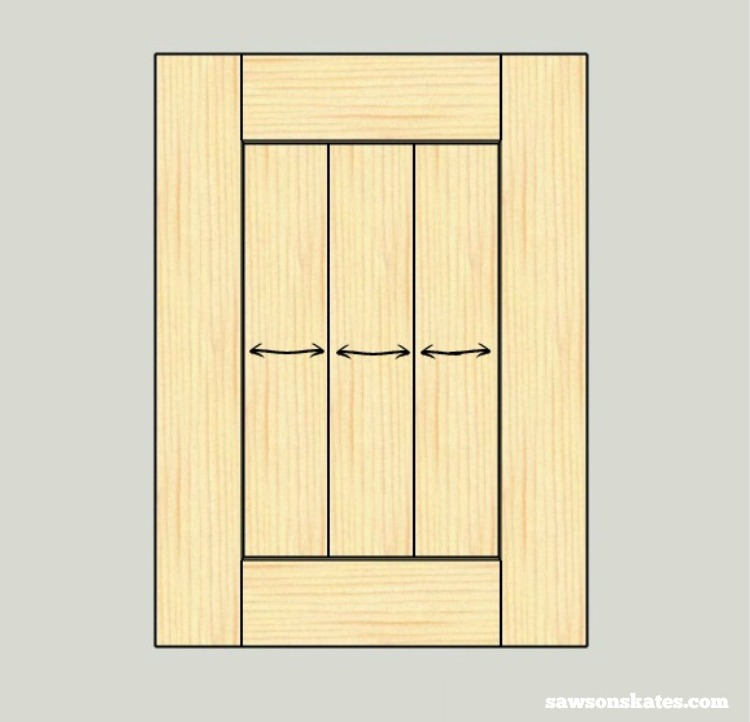 Check out these building tips about how to prevent your DIY wood furniture from cracking - a panel can crack within a frame