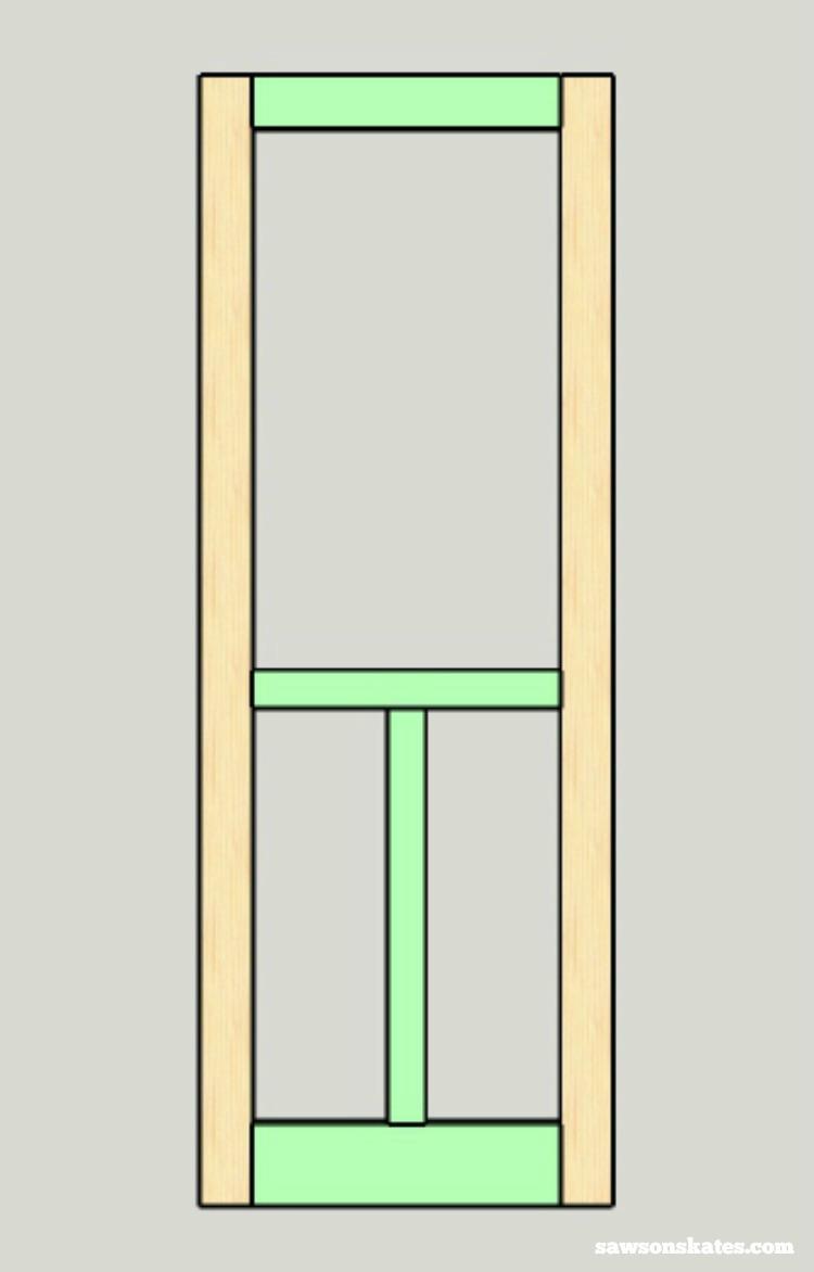 Bon Looking For Screen Door Ideas? Build Your Own Wooden DIY Screen Door With  These Plans