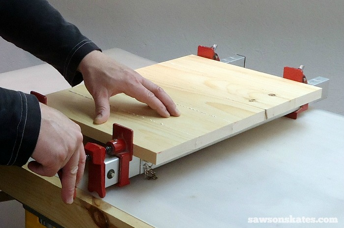 Make the Retro Nightstand Drawer Slide Cleats