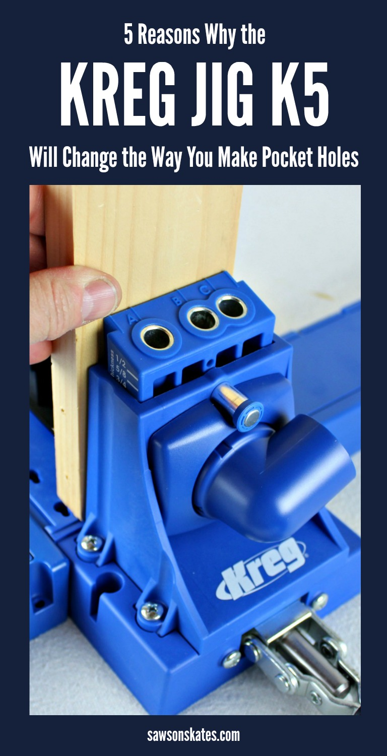If you're looking to build DIY furniture projects using pocket holes, then the Kreg Jig K5 is the tool you want! It's a great value, easy to use and loaded with useful features.