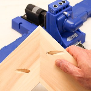 Drilling Pocket Holes on Miter Joints Requires Careful Planning