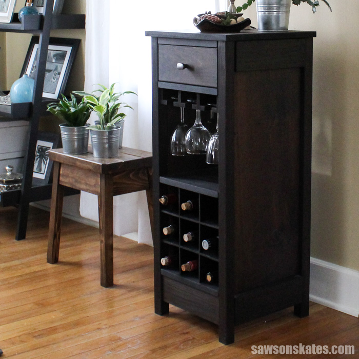 Groovy Diy Wine Cabinet Displays Entertaining Essentials Download Free Architecture Designs Photstoregrimeyleaguecom