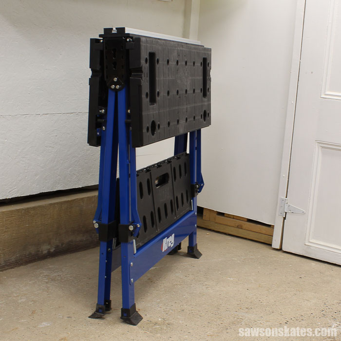 Best Workbench Features - Does the workbench you're considering for your workshop fold flat?