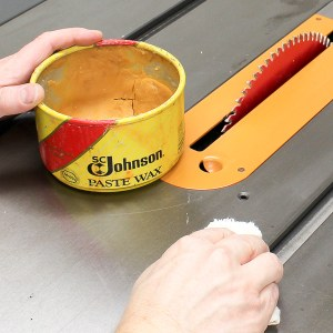 Wax Your Table Saw to Reduce Friction and Maximize Performance