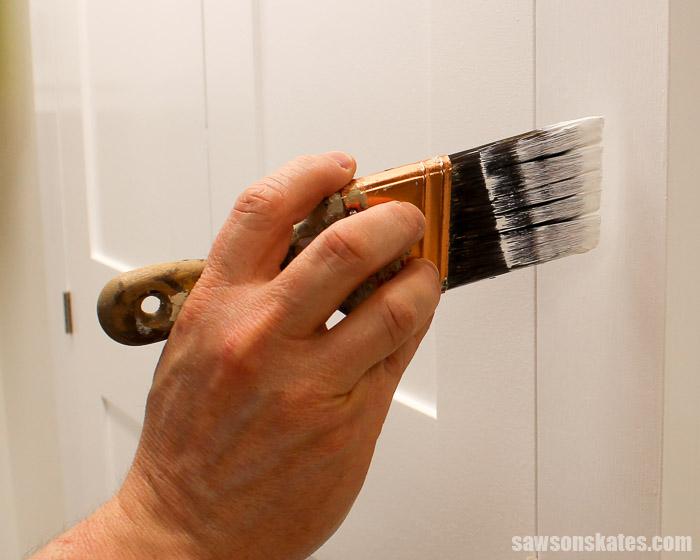 Workshop Problems Solved - Paint brightens a dark workshop
