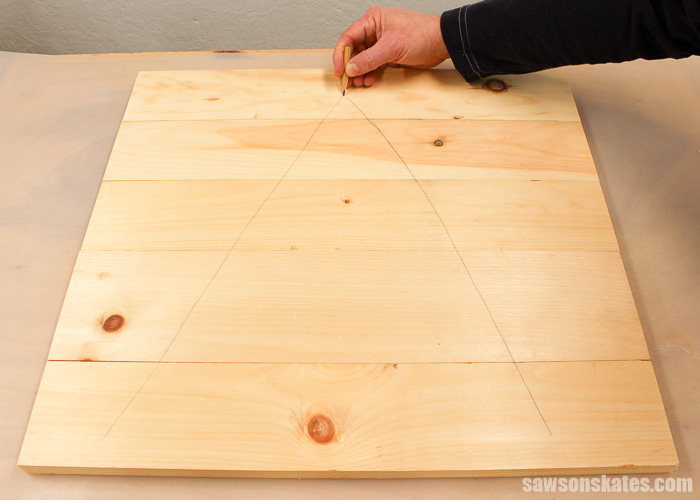 Pocket Hole Tips for Edge Joints - use a cabinetmaker's triangle to properly orient boards