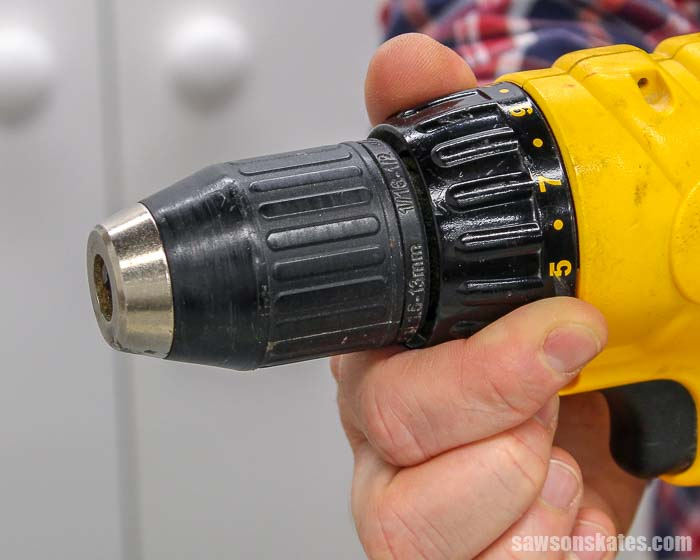Learning about the clutch is part of learning how to use a drill