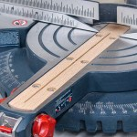 A DIY zero clearance insert makes miter saw cuts cleaner