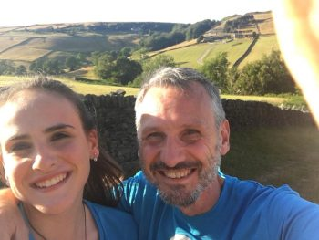Dad & Daughter in Yorkshire
