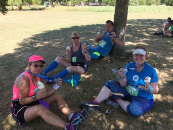 A ridiculously hot 10K at St Neots