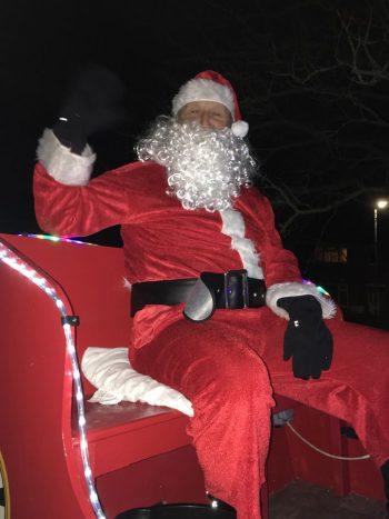 Santa came to Sawtry